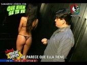Delfina Gerez Bosco ass show off