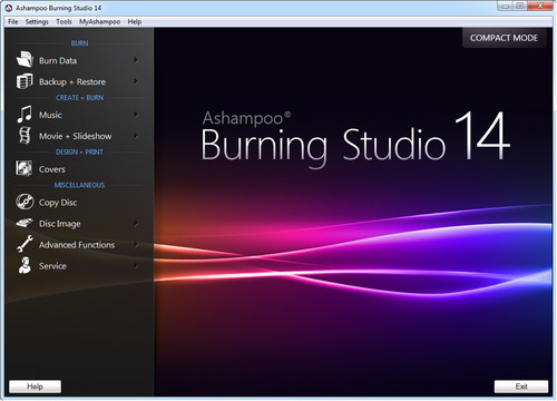 AshampooBurningStudio14.0.9.8繁簡英等多國語言燒錄軟體免安裝版