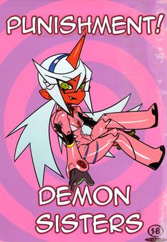 Hamanasu Chaya Hamanasu Panty & Stocking Oshioki! Demon Sisters English Hentai Manga Doujinshi