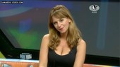 Julieta big tits cleavage tv hostess