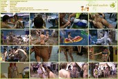 Grassy Outdoor Fitness - naturists movie HD