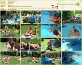 Merry Pool - naturists movie