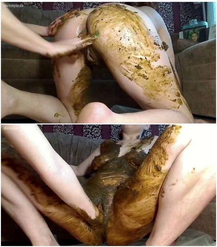 homemade lesbian scat